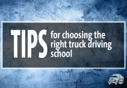 Tips for Choosing the Right Truck Driving School Image