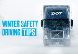 Winter Truck Driving Safety Tips Image
