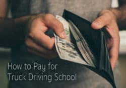 How to Pay for Truck Driving School Image