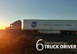 6 Steps to Becoming a Truck Driver Image