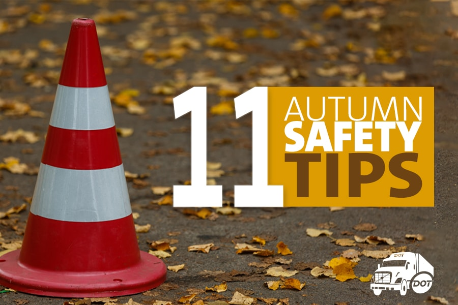 11 Autumn Safety Tips for Truck Drivers