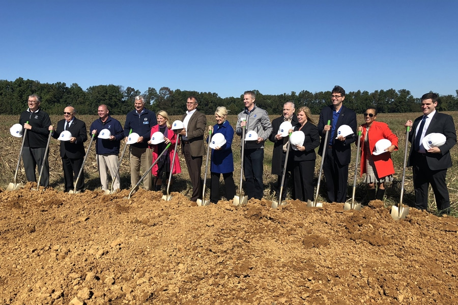 Dot's 12th Distribution Center Has Broken Ground