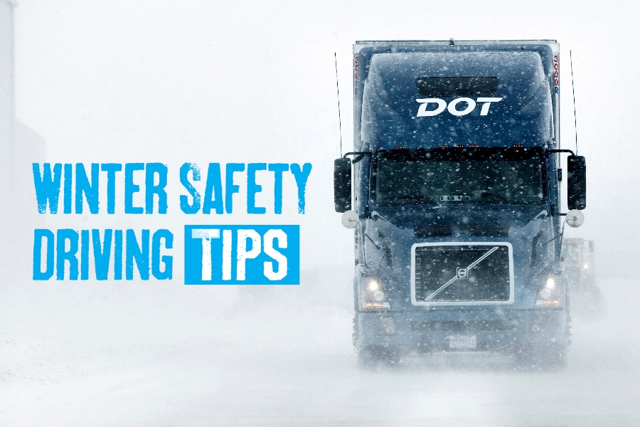 Winter Truck Driving Safety Tips