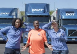 Women in Trucking: International Women's Day Image