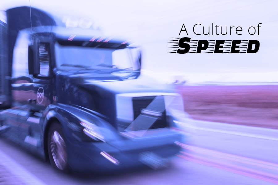 A Culture of Speed