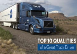 Top 10 Qualities of a Great Truck Driver Image