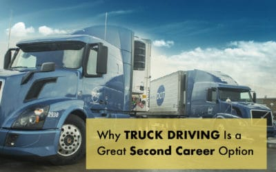 Why Truck Driving Makes a Great Second Career
