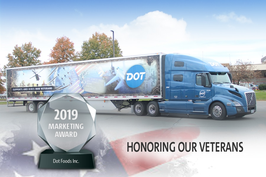 Dot's Branding Team Wins Award for Honoring Our Veterans