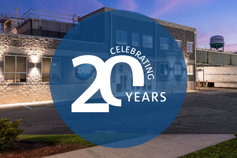 Dot Foods Celebrates 20 Years in Vidalia, Georgia