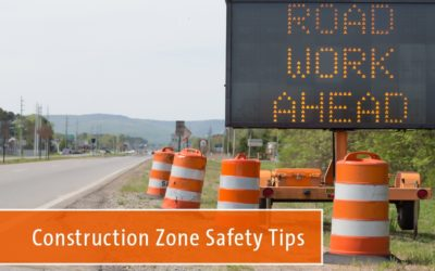 Work & Construction Zone Driving Safety Tips