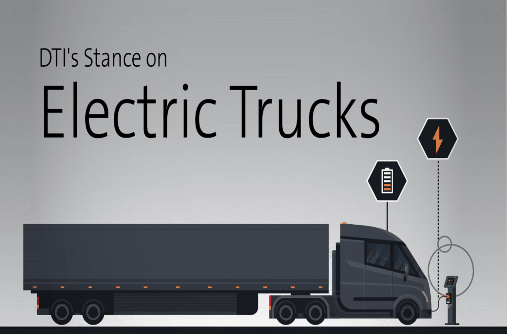 Electric Trucks at Dot Transportation