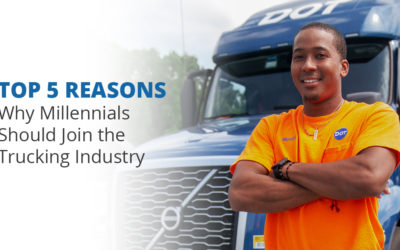 Top 5 Reasons Why Millennials Should Join the Trucking Industry