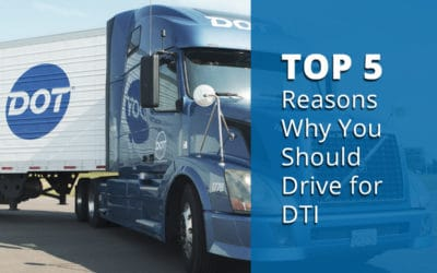 Top 5 Reasons You Should Drive for Dot Transportation