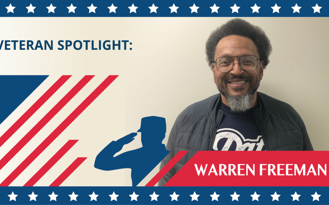 Veteran Spotlight: Warren Freeman