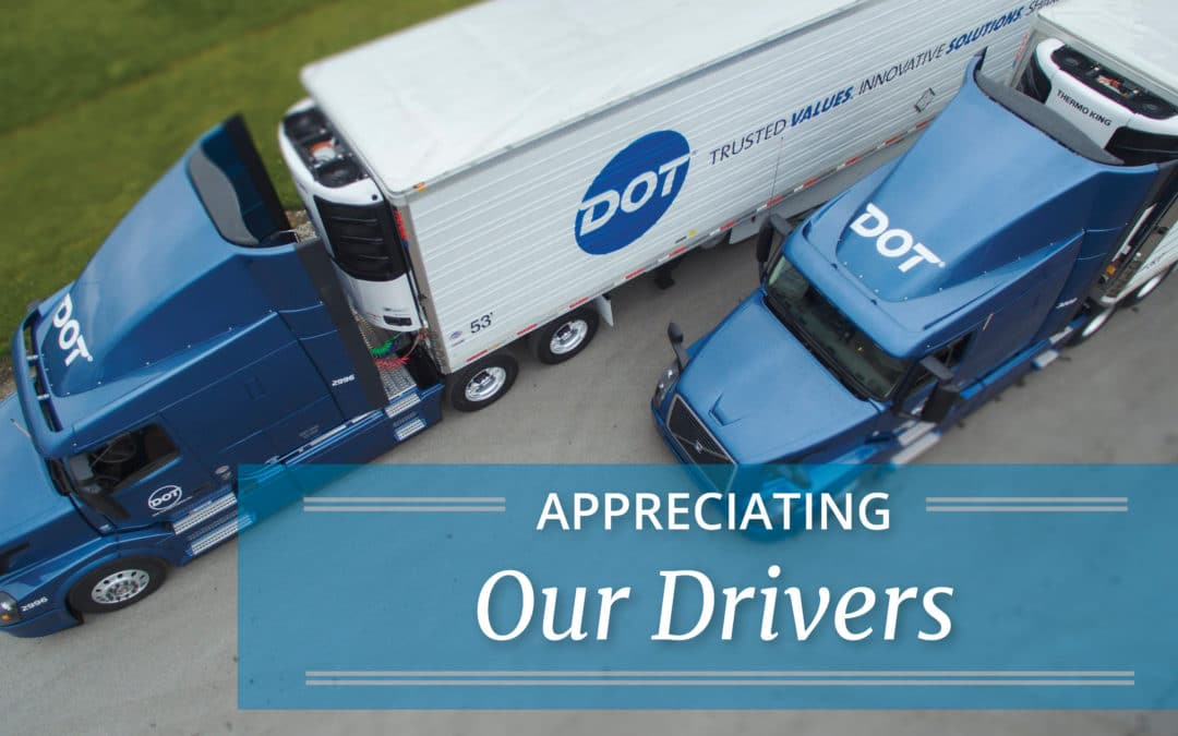 Appreciating Our Drivers