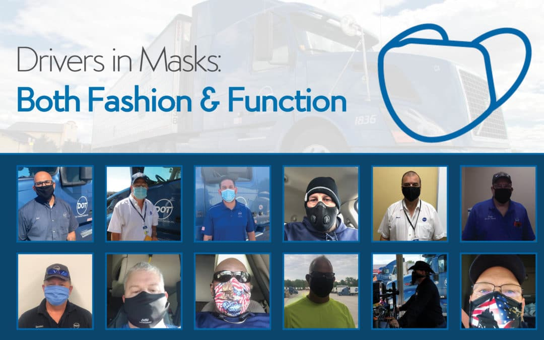 Drivers in Masks: Both Fashion & Function