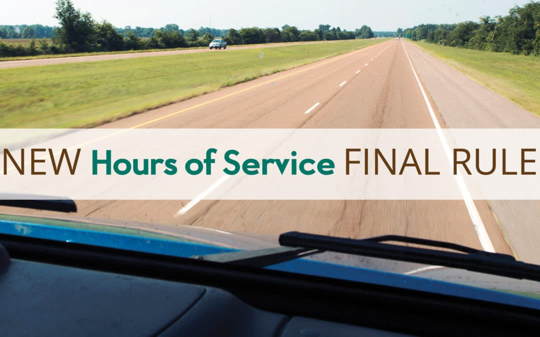 New Hours of Service (HOS) Final Rule