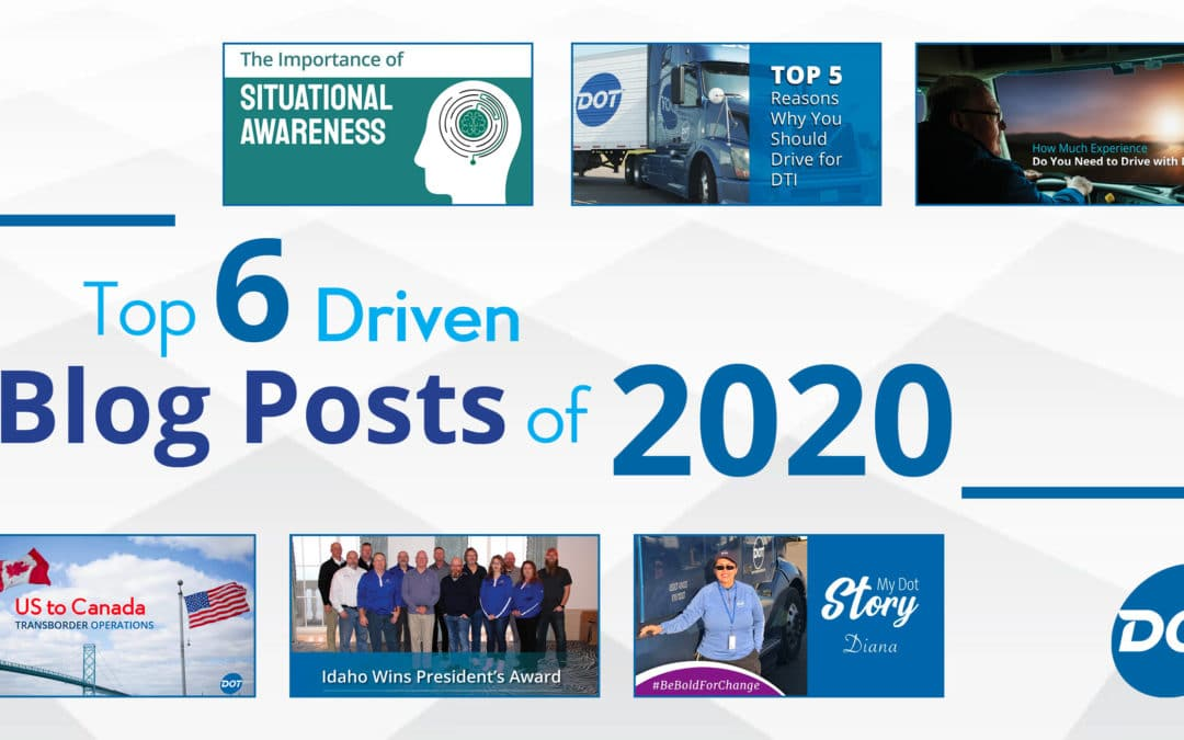 Top 6 Driven Blog Posts of 2020