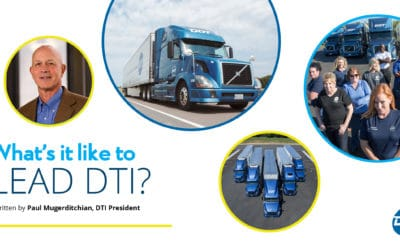 What's it like to lead DTI?