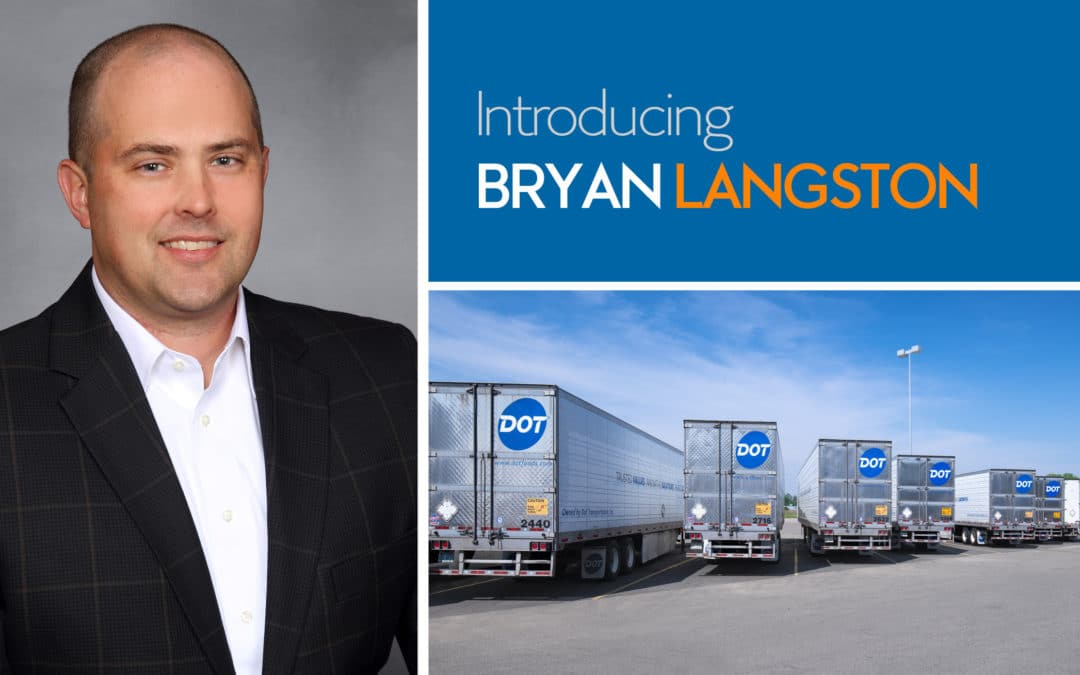 Introducing Bryan Langston
