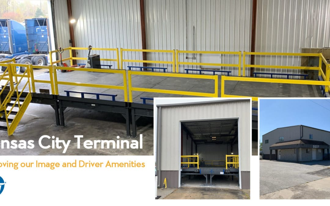 Kansas City Terminal – Improving our Image and Driver Amenities
