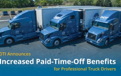 DTI Announces Increased Paid-Time-Off Benefits for Professional Truck Drivers