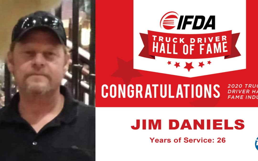 Dot Driver Jim Daniels Inducted into IFDA Hall of Fame