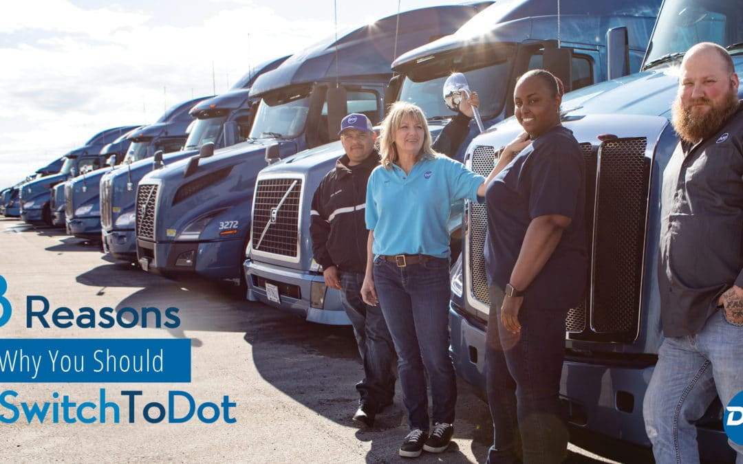 Top 8 Reasons Why You Should Switch to Drive for Dot Transportation