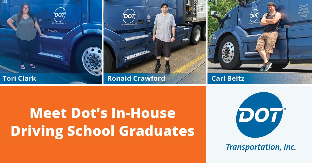 Get to Know the Most Recent Graduates From Dot's In-House Driving School