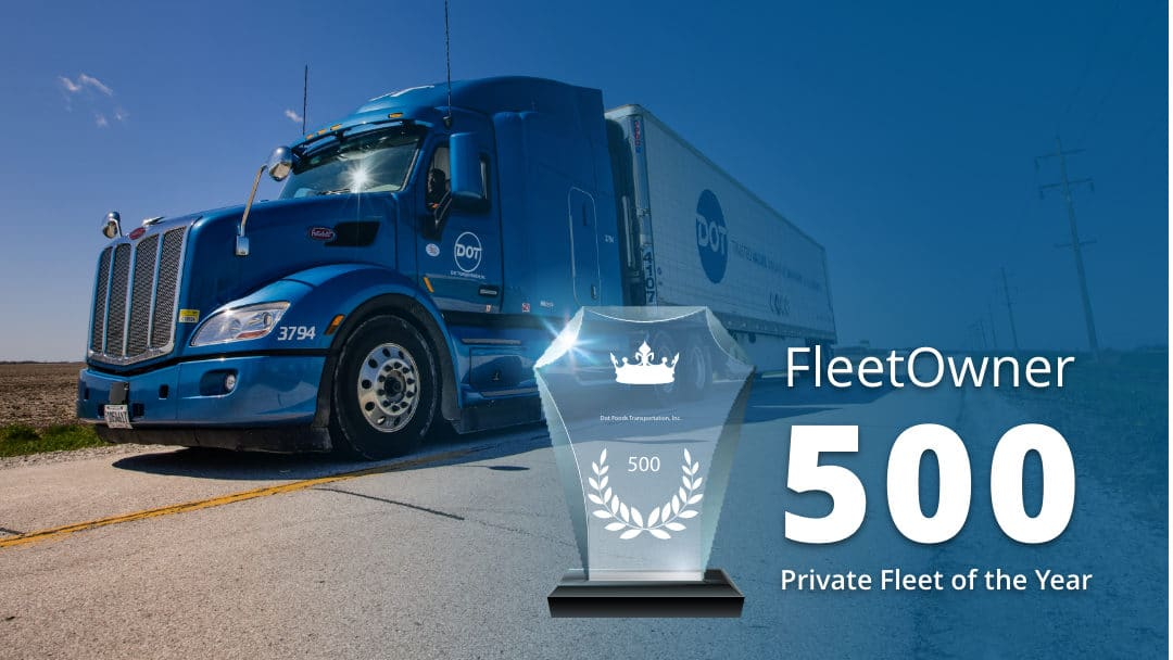 What are the Perks of Driving for an Award-Winning Private Fleet?