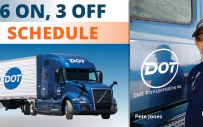 What It's Like: 6×3 Schedule With Dot Transportation